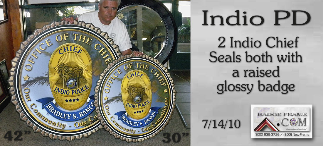 Indio PD Seals