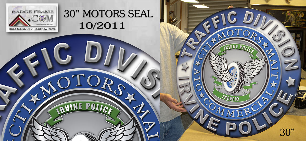 Irvine PD - Motors Seal