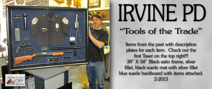 Irvine PD - Tools of the Trade