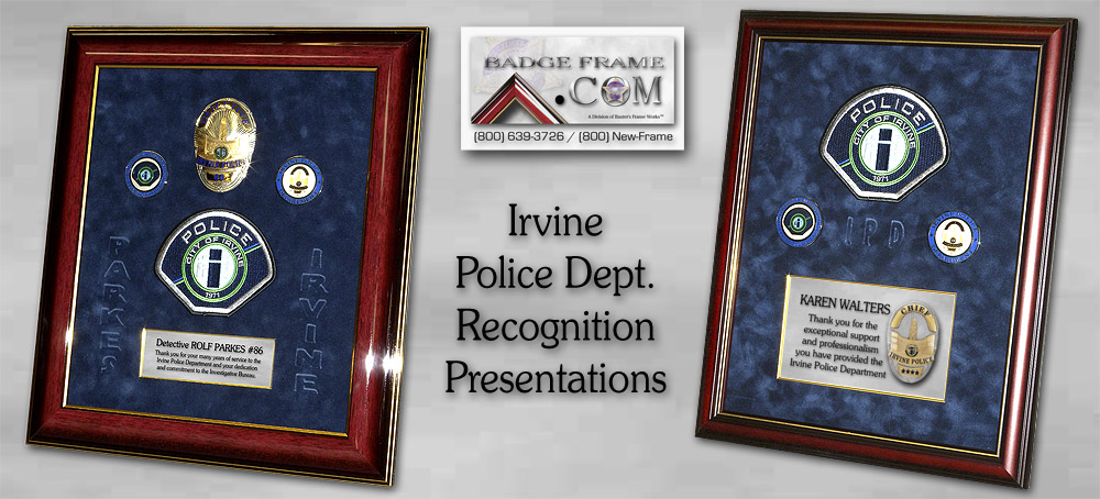 Irvine PD -               Recognition Presentations