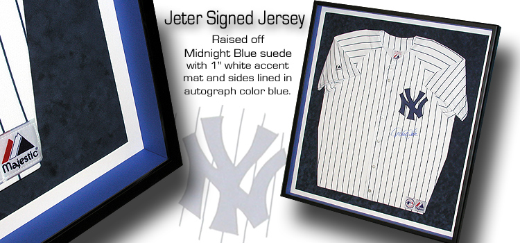 Jeter Signed Jersey