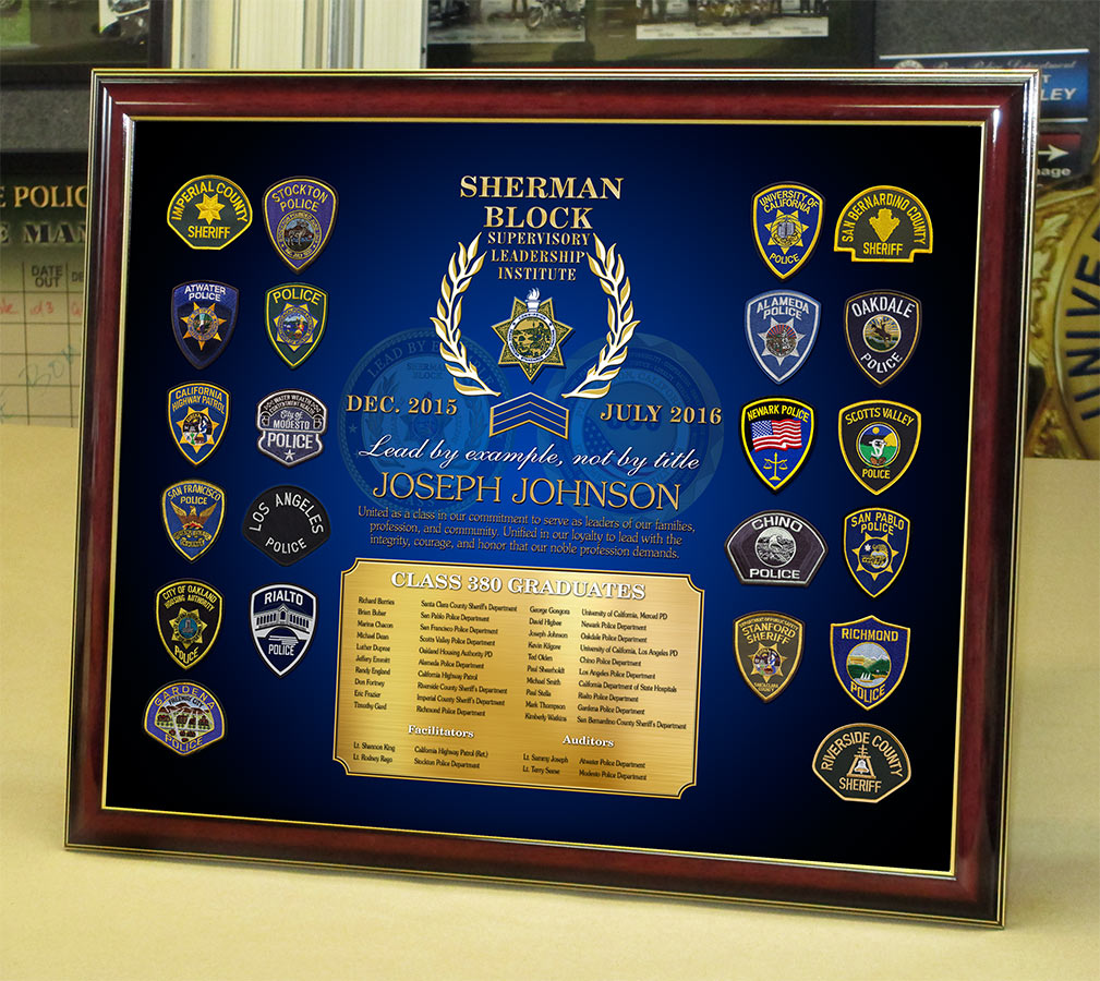 Johnson - SLI Class #380 presentation from Badge Frame