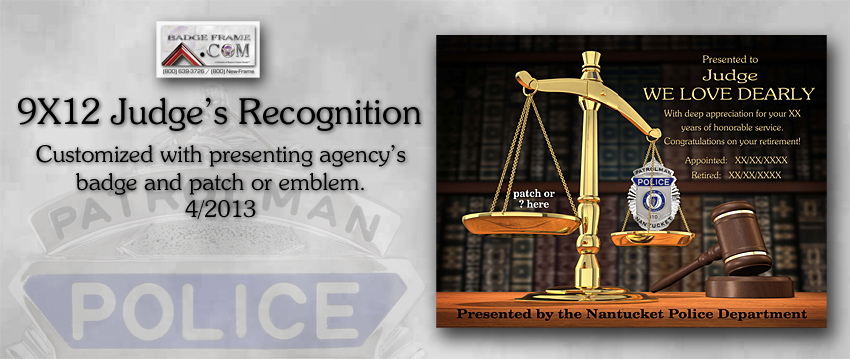 Judge Recognition