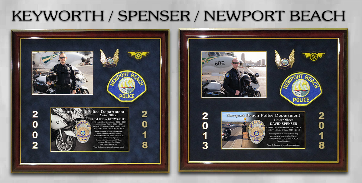Keyworth & Spenser - Newport Beach PD Motors