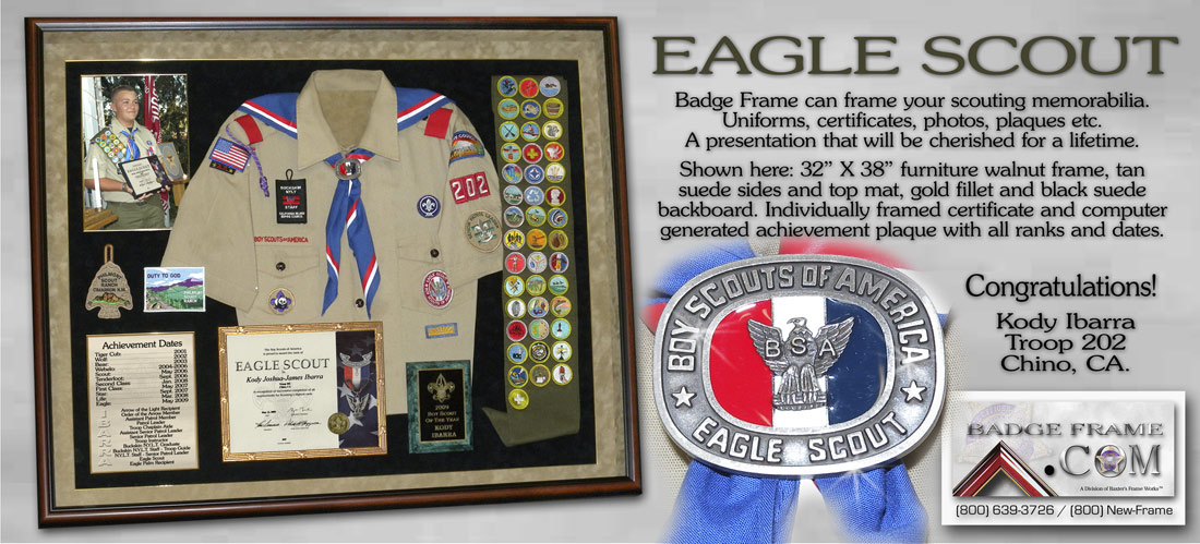 Kody Ibarra - Eagle             Scout, Troop 202 0 Chino, CA