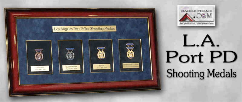 L.A. Port Police - Shooting Medals