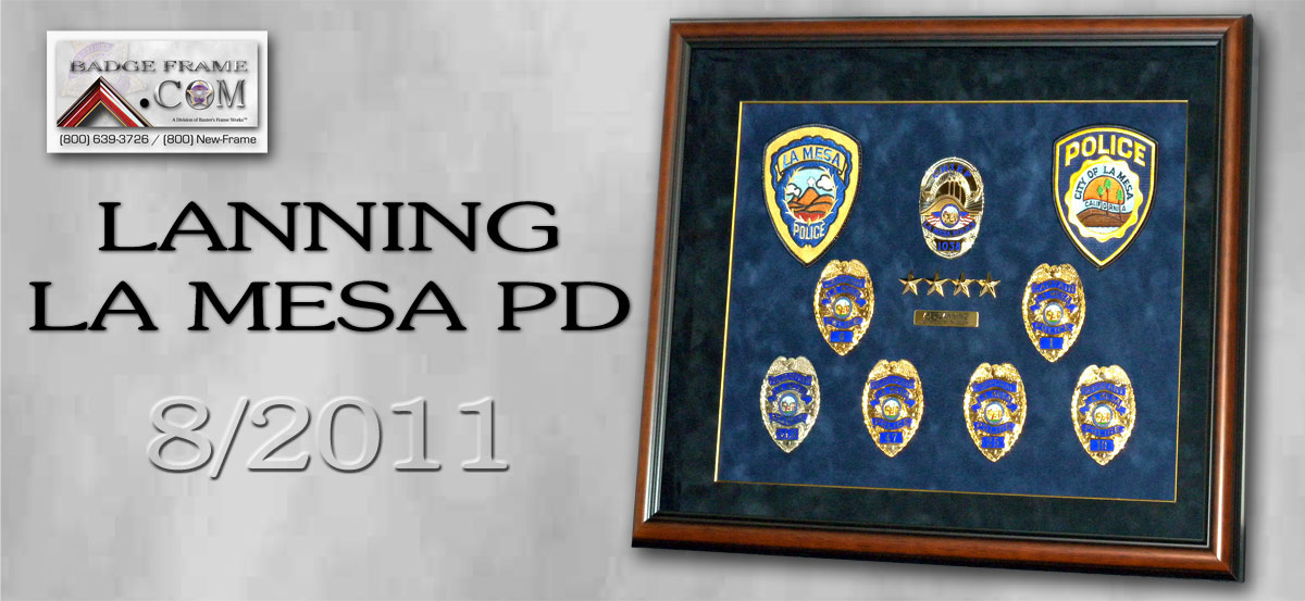 Lanning - La Mesa PD Chief Presentation