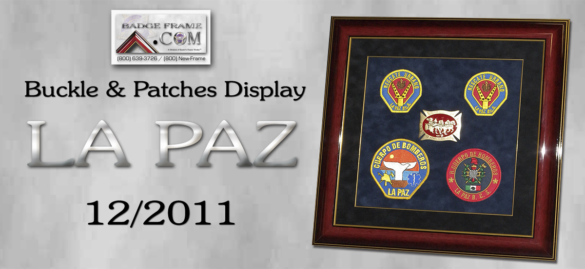 La Paz Patches and buckle
