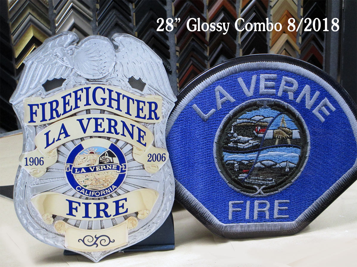 La Verne FD - Badge Patch Combo
