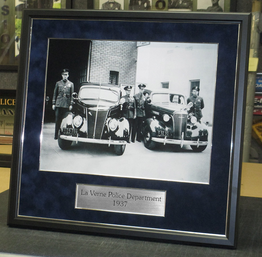 La Verne PD - Archive from Badge Frame 11-2016