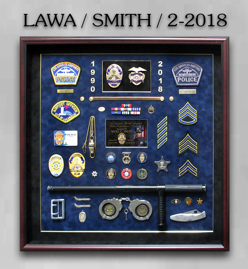 LAWA - Smith Retirement from Badge Frame