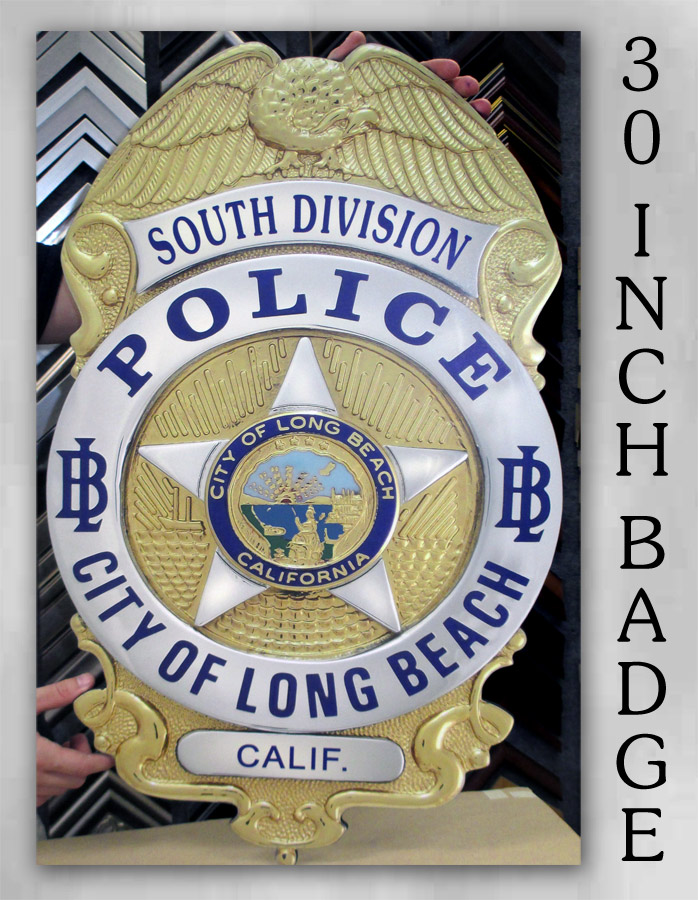 Long Beach PD - South Division Badge