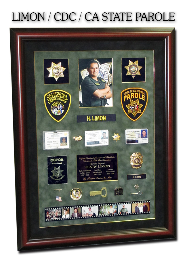 Limon - California Deprtment of Corrections and CA               State Parole presentation from Badge Frame