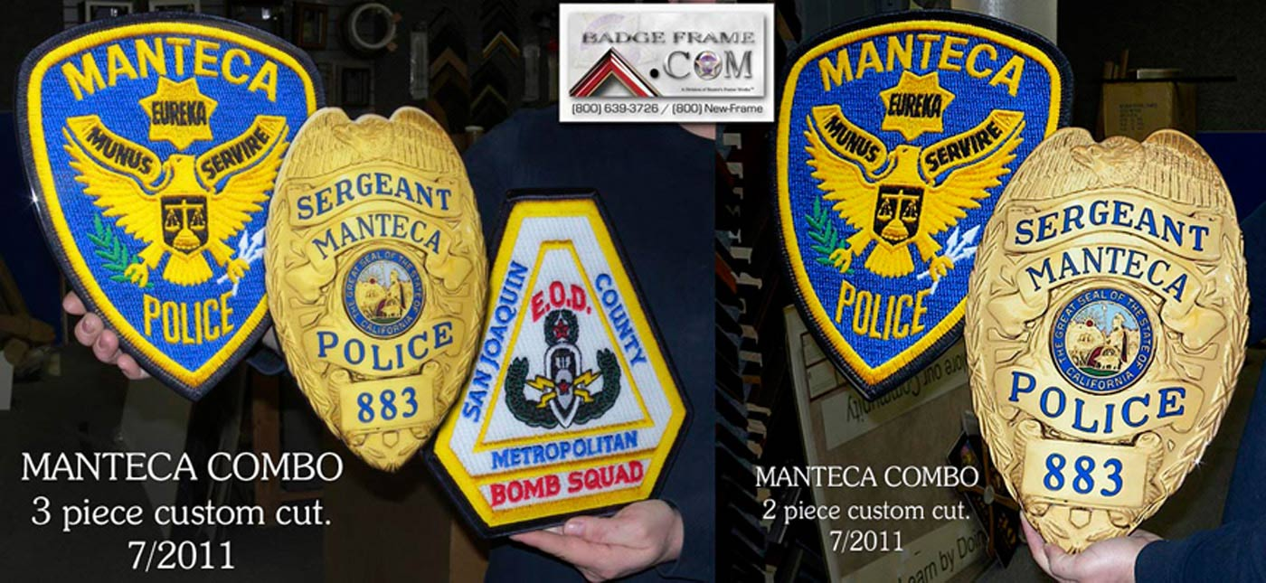 Manteca - PD Badge & Patch Reproductions