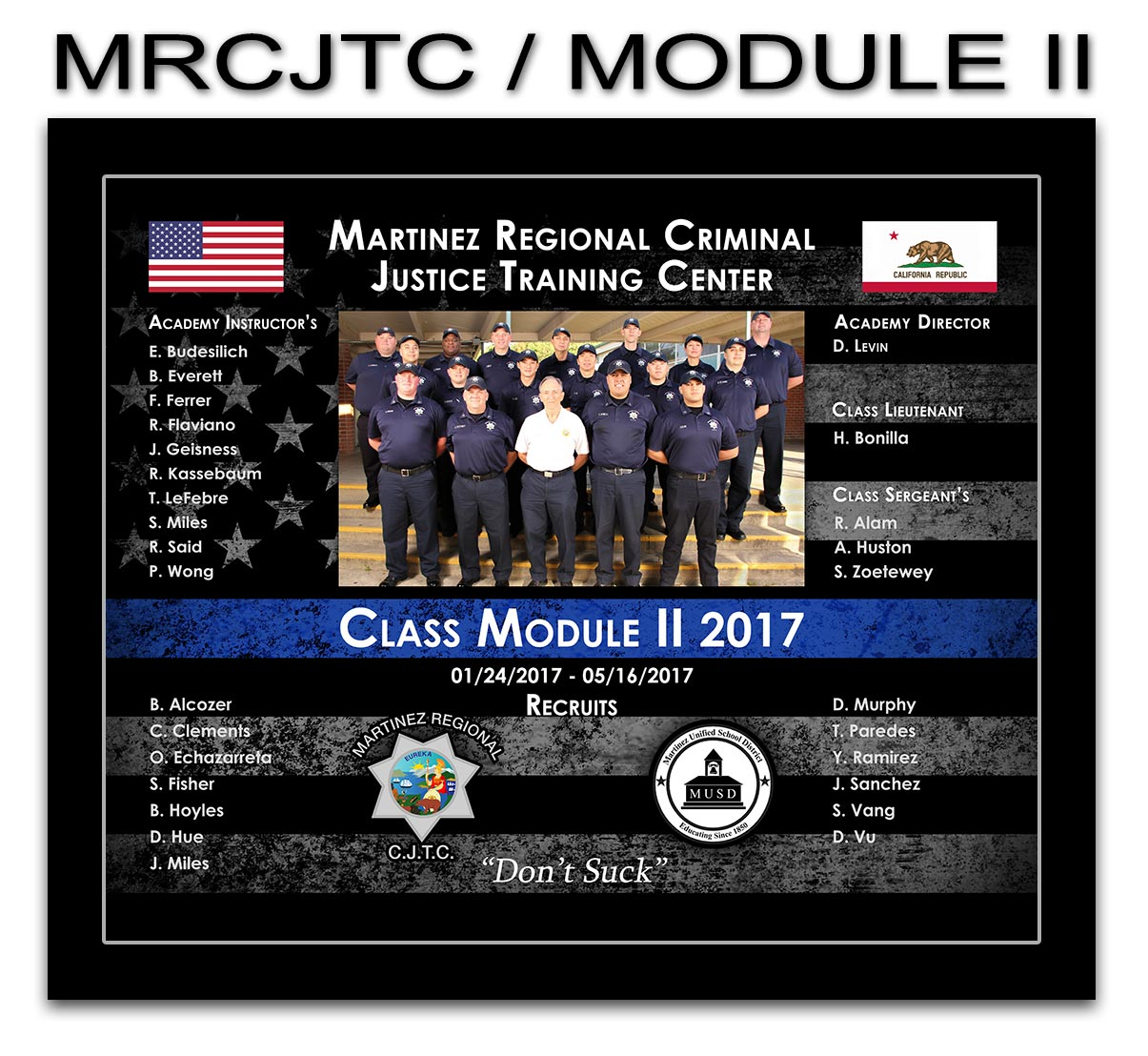 Martinez Regional Presentation from Badge Frame