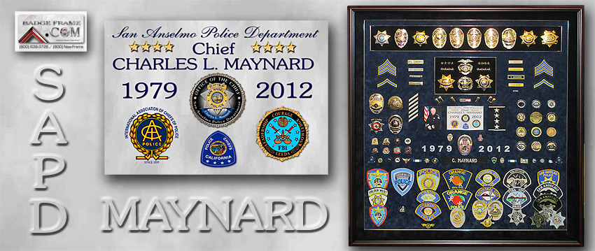 Chief Maynard - San Anselmo PD