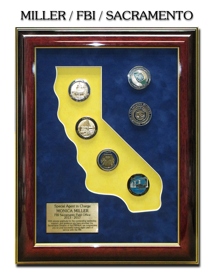 FBI           Sacramento Presentation from Badge Frame