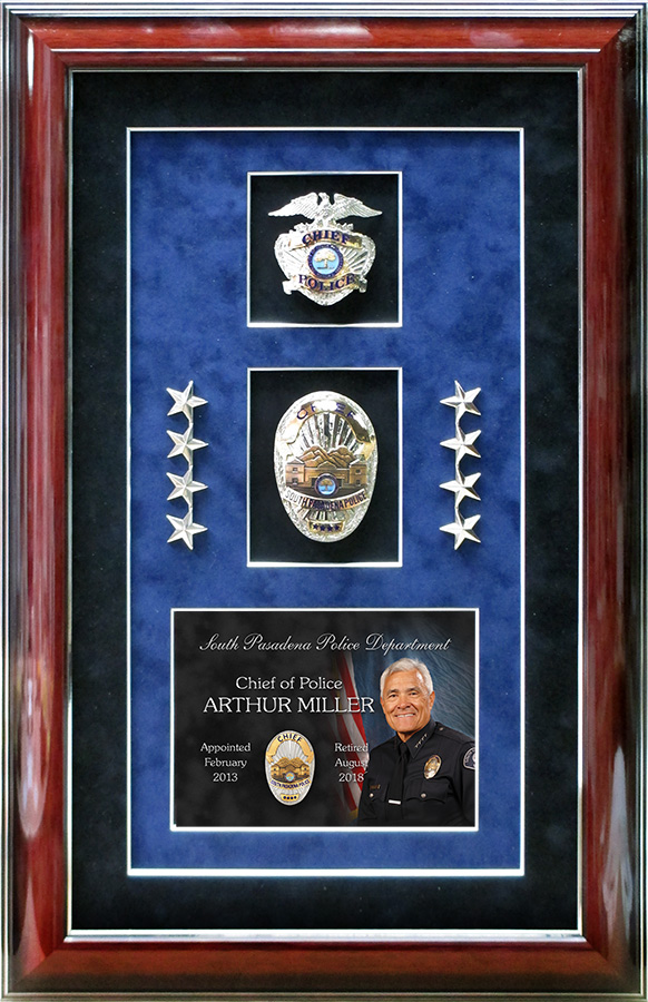 Chief Miller / South Pasadena PD Retirement