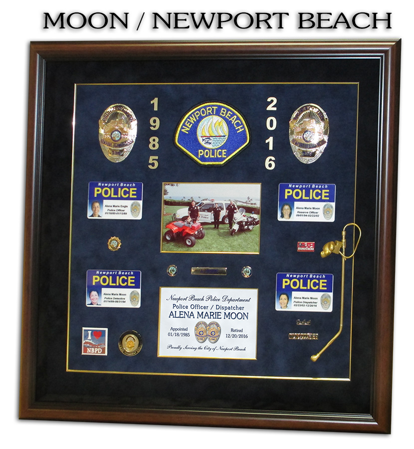 Moon - Newport Beach           PD presentation from Badge Frame