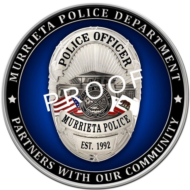 Murrieta PD Seal                             from Badge Frame