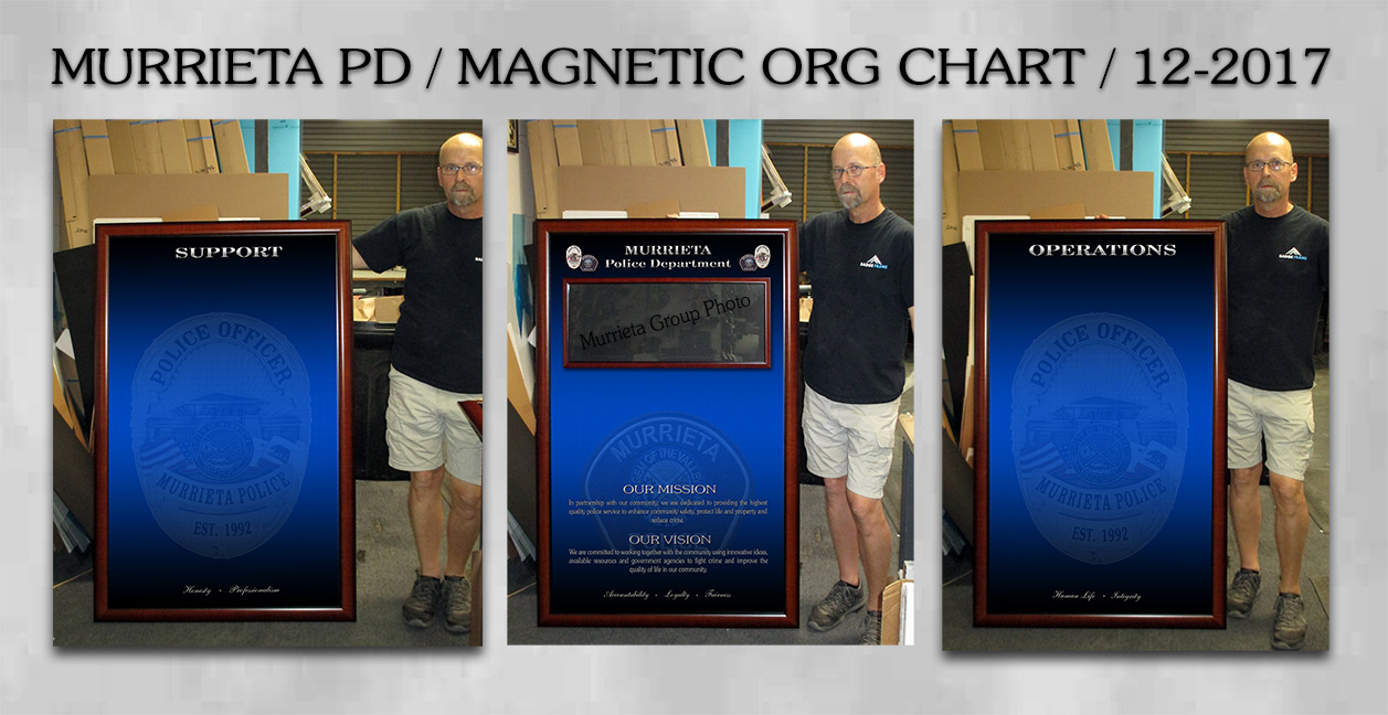 Murrieta PD - Magnetic Org Chart