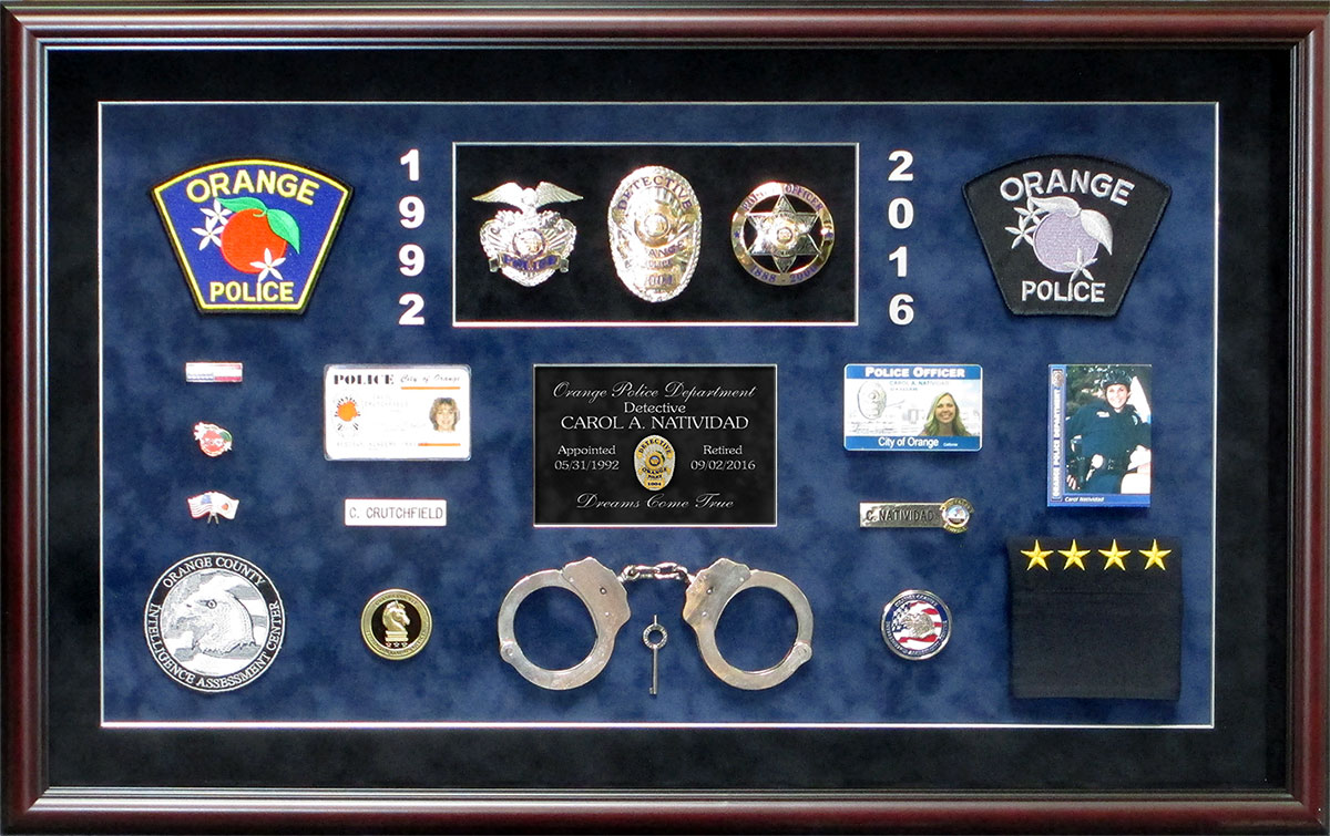 Natividad - Orange PD             presentation from Badge Frame