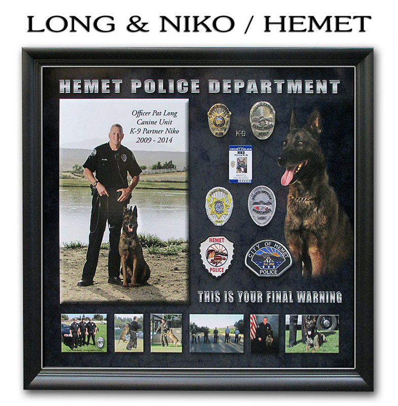 Long & Niko - Hemet PD