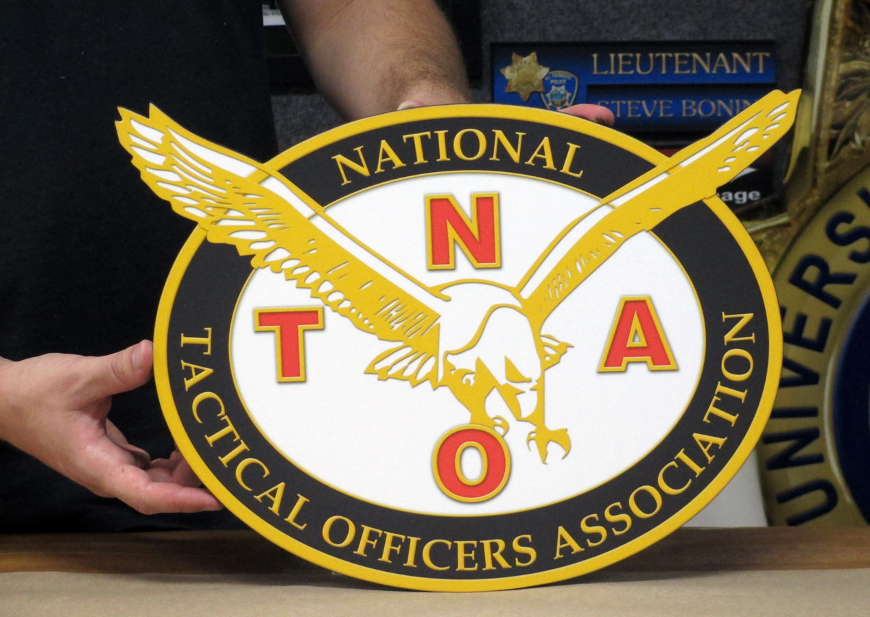 National Tactical Officers Podium Seal