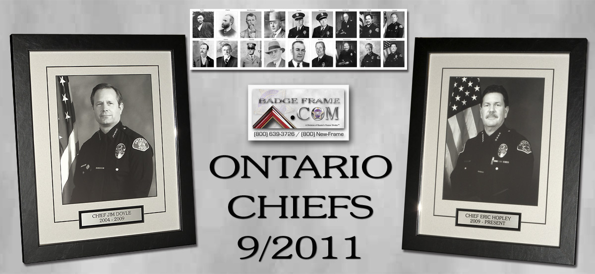 Ontario - Chief's Display
