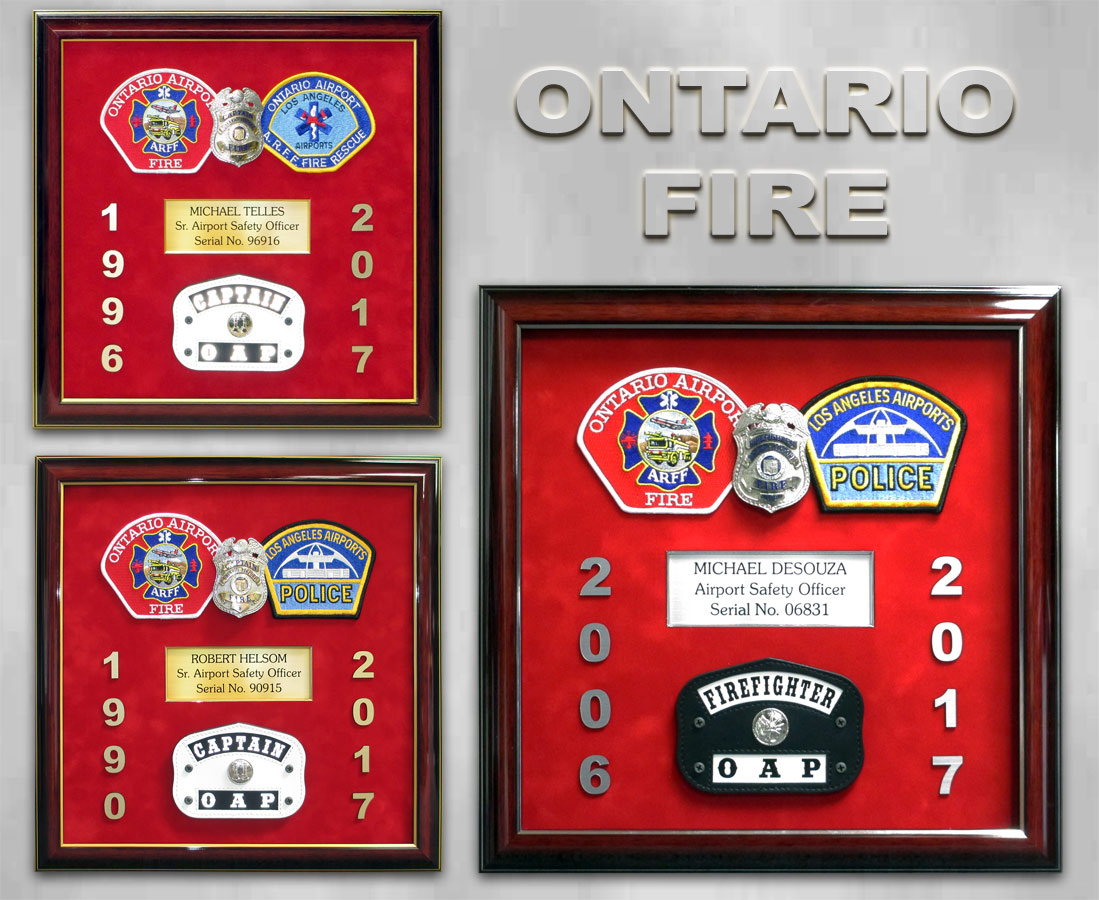 Ontario Fire Presentations from Badge Frame