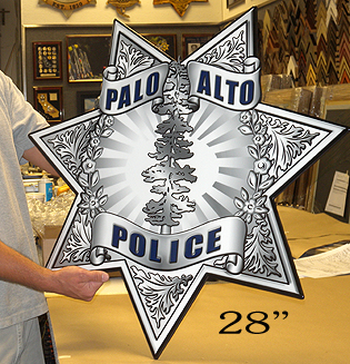 Palo Alto Oversized Badge