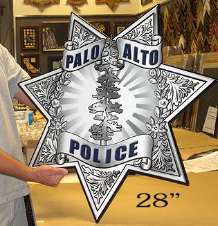 Palo Alto Oversized Badge