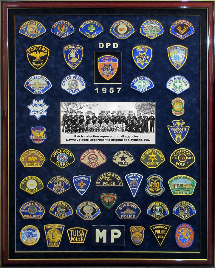 Downey PD Patches