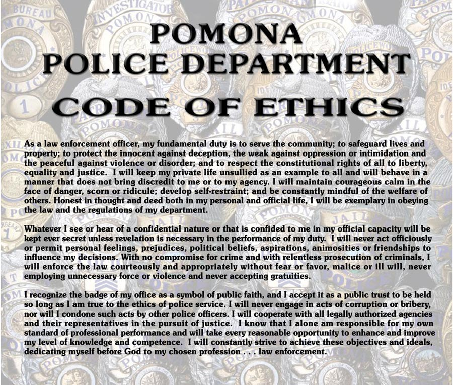 Pomina PD - Ethics