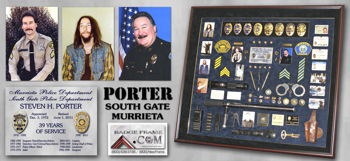 Steve Porter - South Gate PD and Murrieta PD