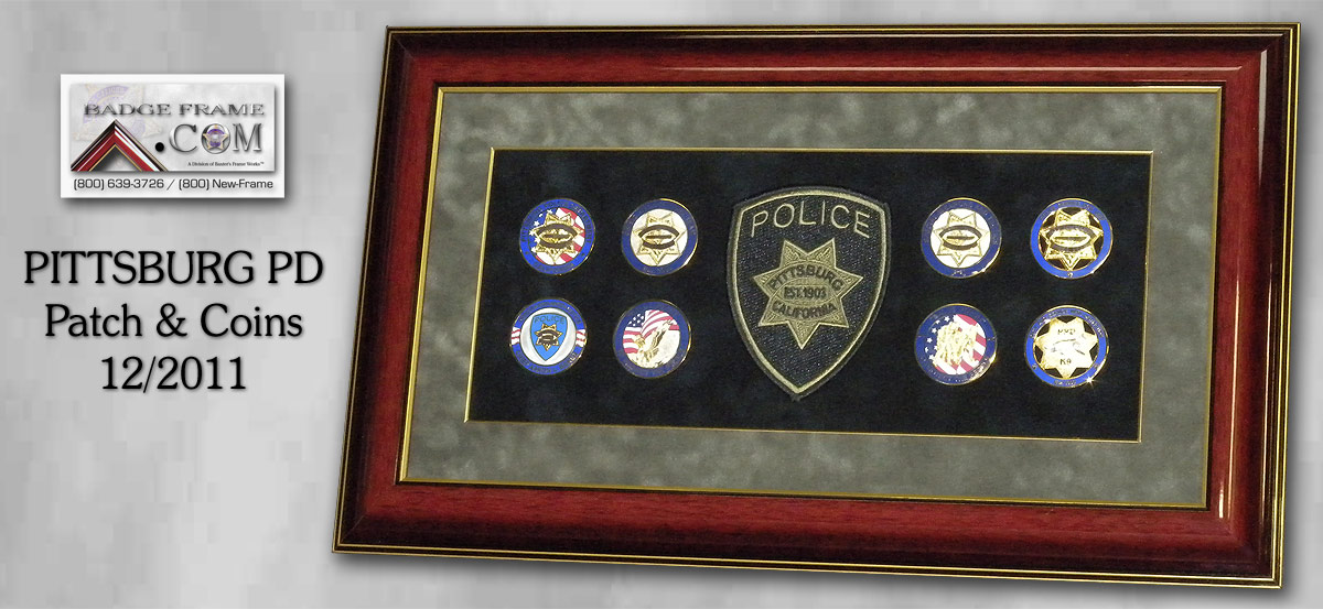 Pittsburg PD - Patch & Coins
