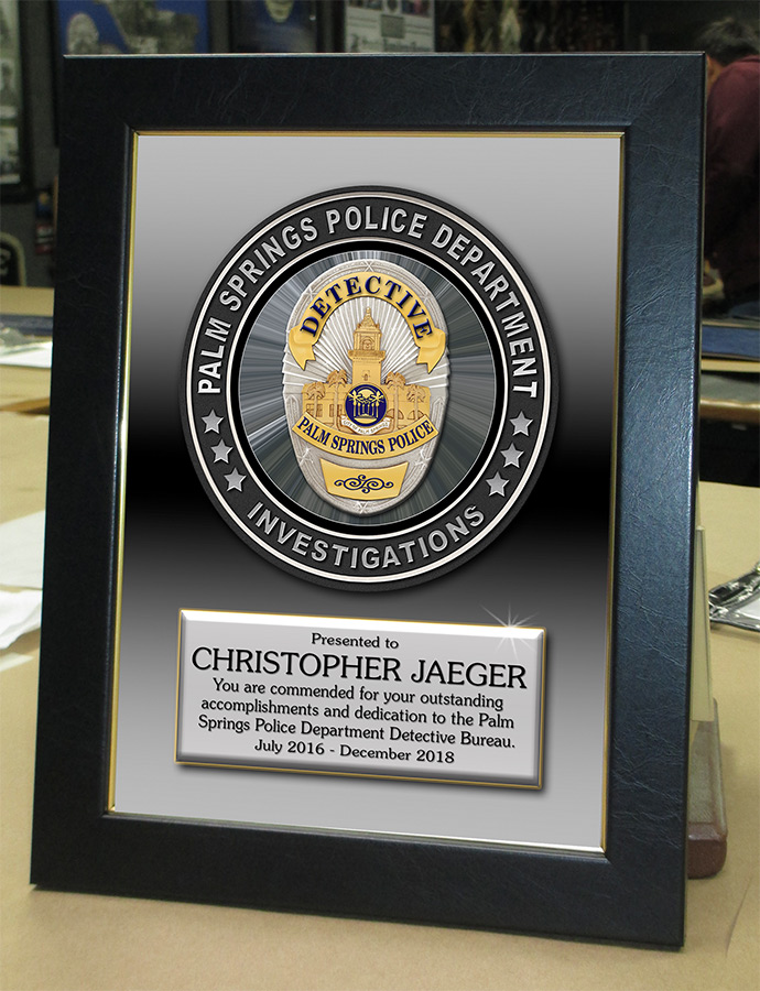 Palm Springs PD Recognition