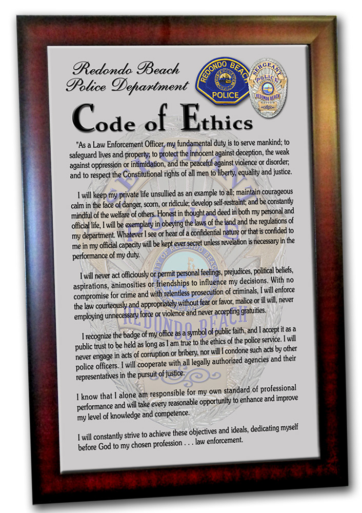 Redondo Beach - Ethics
