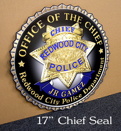 Redwood PD Chief Seal