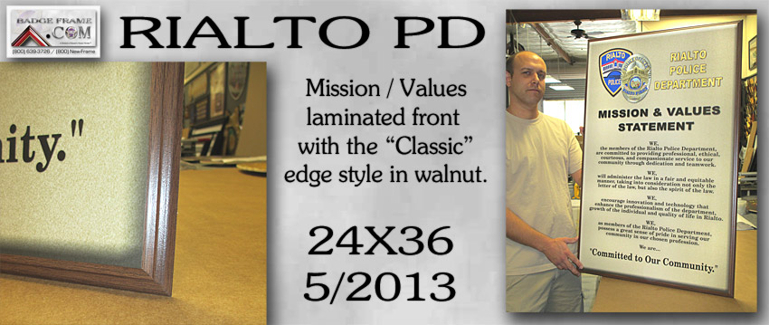 Rialto PD - Mission - Classic Edge