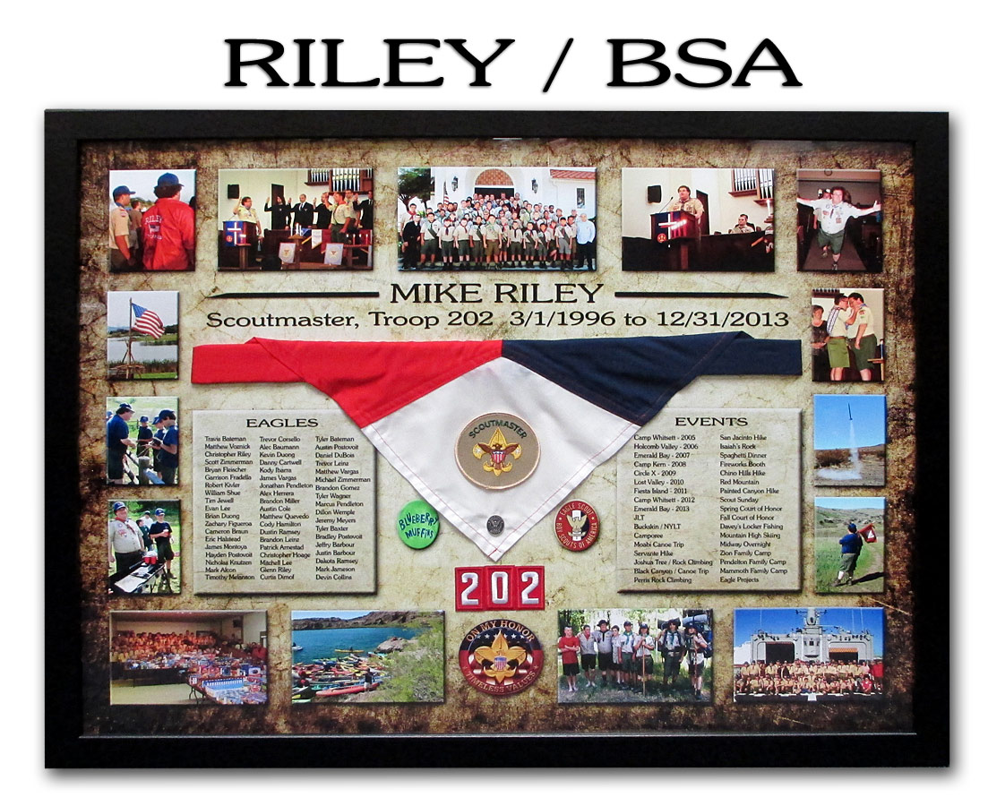 Mike Riley - BSA Troop 202