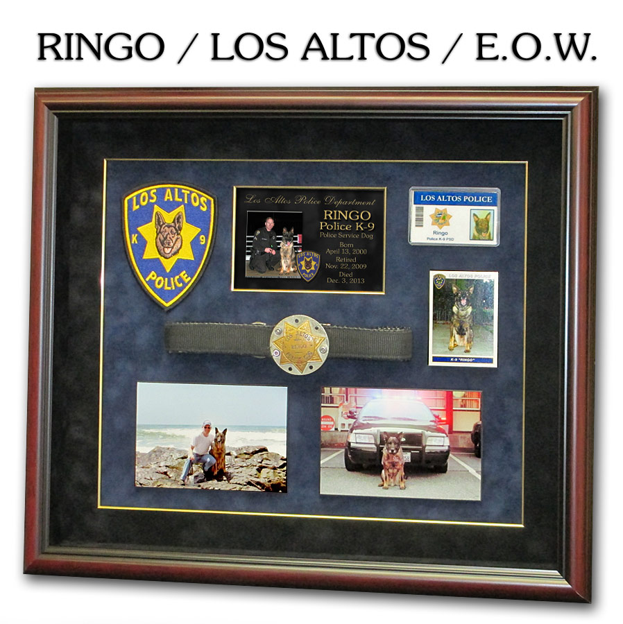 Los                   Altos PD - K-9 Ringo - E.O.W.