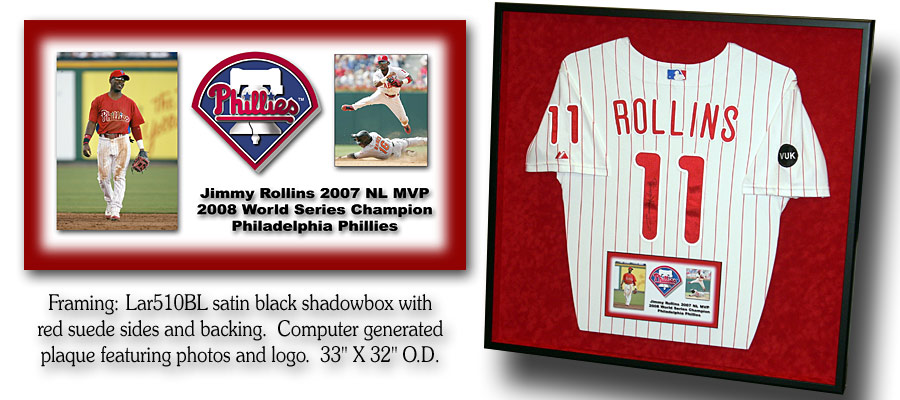 Rollins - Phillies Jersey