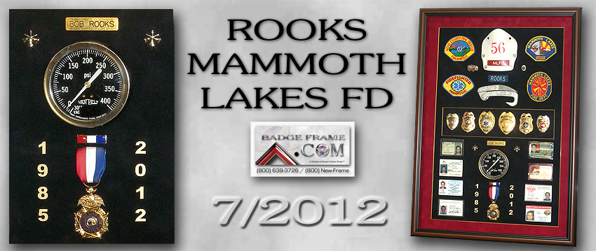 Rooks - Mammoth             Lakes FD