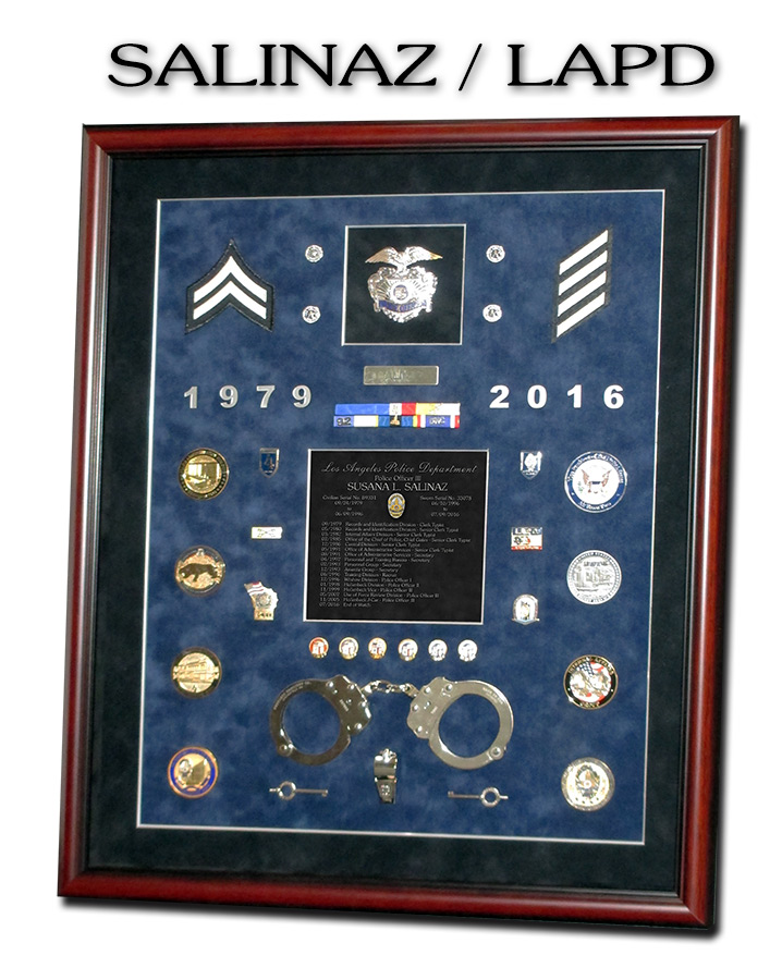 Salinaz - LAPD Retirement             Presentation from Badge Frame