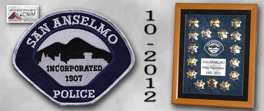 San Anselmo Badge Collection