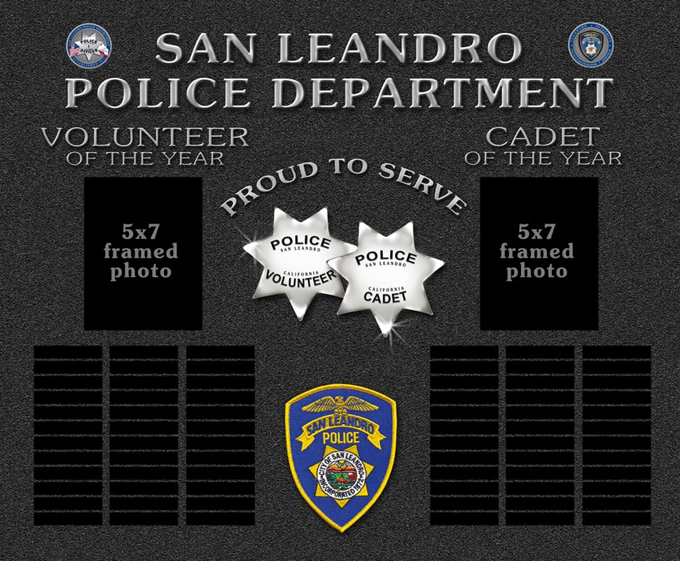 San Leandro Perpetual                 Plaques