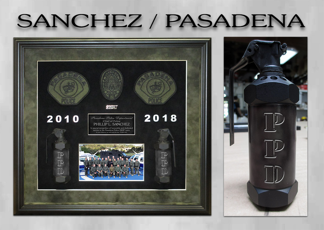 Sanchez - Pasadena PD SWAT Appreciation