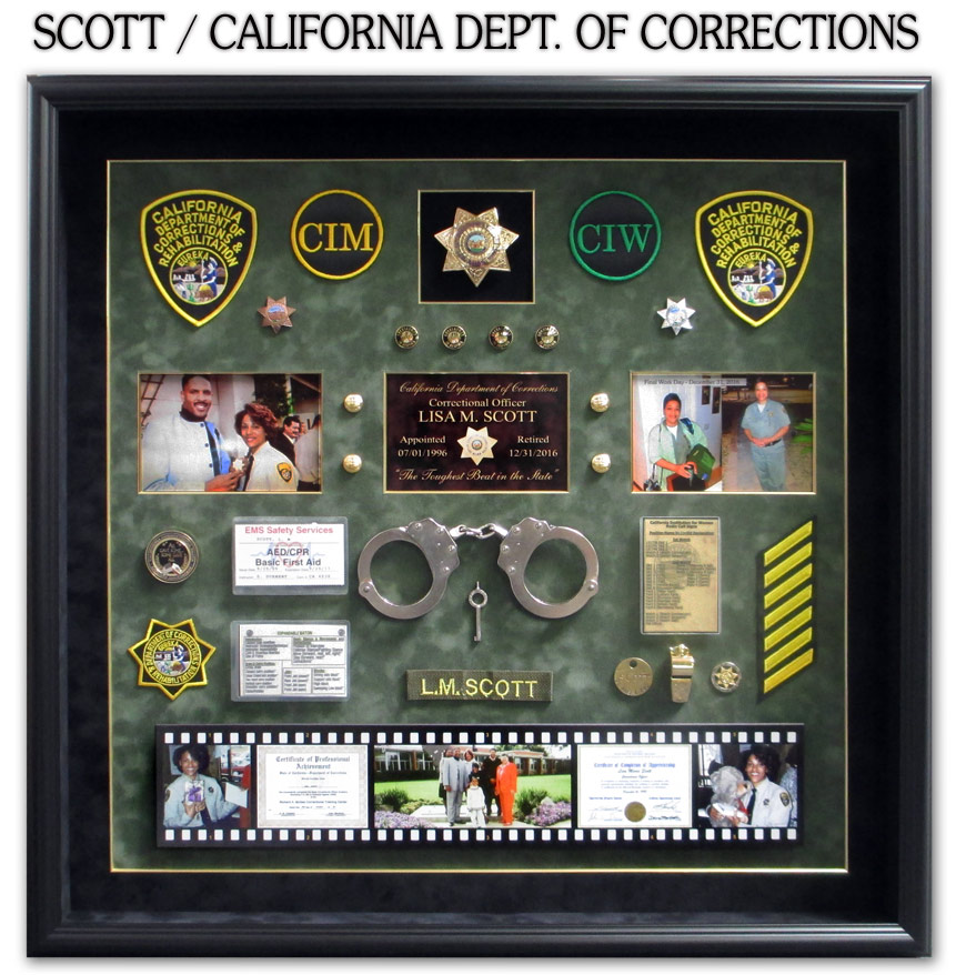 Scott / CDCR presentation from Badge Frame