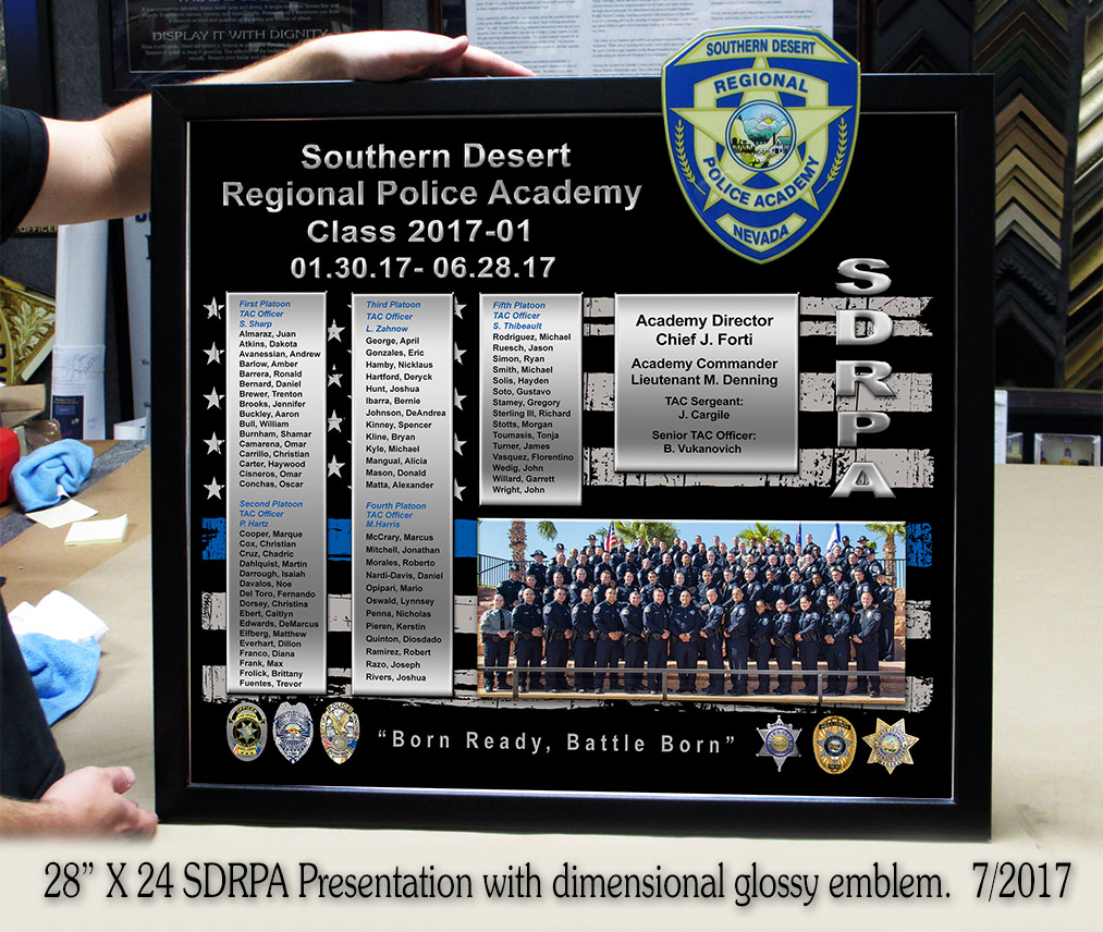 SDRPA Presentation from Badge Frame